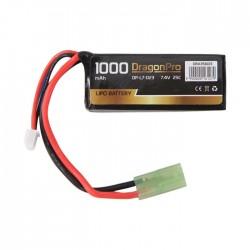Bateria 7.4 V 1000 mAh 25C...