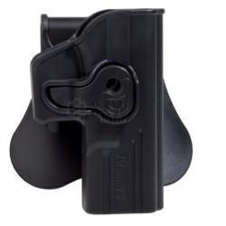 Pistolera Rigida Negra...