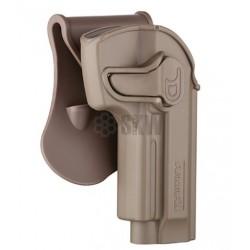 Pistolera Rigida AMOMAX Tan 92