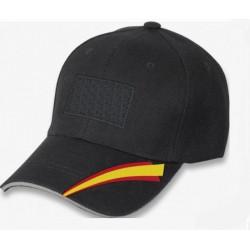 Gorra negra bandera España BARBARIC