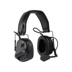 Cascos Simple Negro HEADSET