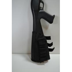 Funda culata escopeta portacartuchos negro