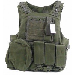 Chaleco FSBE Verde COMBAT ZONE