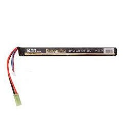 Bateria LIPO 11 1 V 1400 mAh 25C DRAGONPRO