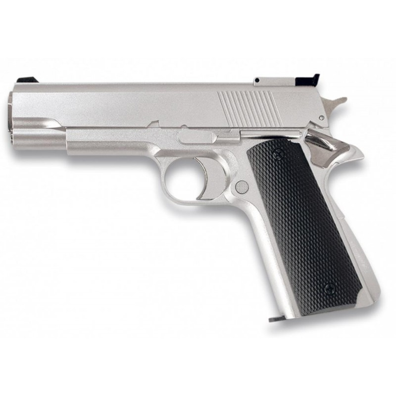 Pistola Gas Blanca  6 mm HFC