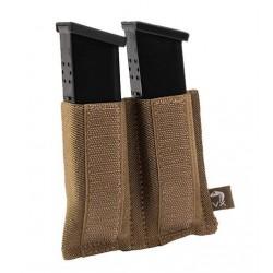Pouch Porta Cargador Doble Pistola Coyote VIPER