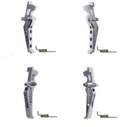 Gatillo Aluminio Avanzado Estilo Plata MAXX MODEL