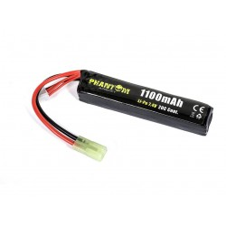 Bateria 7 4 V 1100 mAh 103x20x12mm 20C Phantom