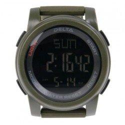 Reloj Tactico Multifuncion Verde DELTA TACTICS