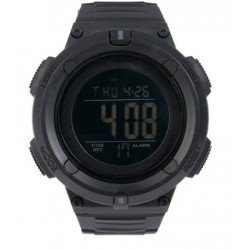 Reloj Tactico Multifuncion Negro DELTA TACTICS