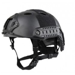 Casco Emerson PJ Negro - Ajustable