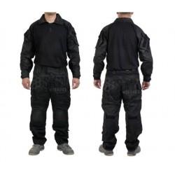 Uniforme Multicam Negro DELTA TACTICS