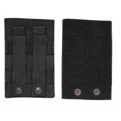 Panel Ajustable Velcro Negro VIPER