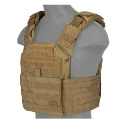 Chaleco plate carrier spac TAN 1000D