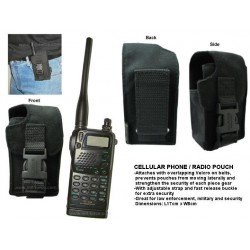 Pouch Radio Negro MIL FORCE