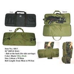 Funda transporte MIL-FORCE 26  RIFLE BAG 65cm