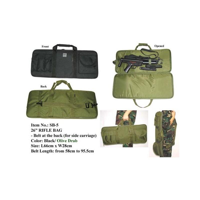 Funda transporte MIL-FORCE 26  RIFLE BAG 65cm