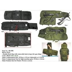 Funda transporte MIL-FORCE DOUBLE DECK 92cm-126cm