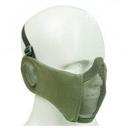 Máscara acolchada con cubre orejas Verde
