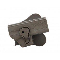 Pistolera Rigida CYTAC Negra G17 18 19 23 34 35