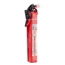 Bateria BO 11 1V 1300mah 25C 12 5x21x130mm