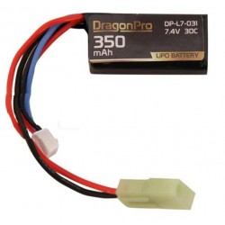 Bateria 7 4 V  300 mAh 30C 40x20x12mm DRAGONPRO