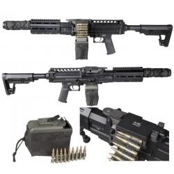 Lmg AQUILA VII Black SECUTOR ARMS