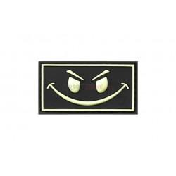 Parche EVIL SMILE  Negro/Nocturno