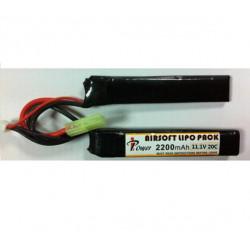 Bateria 11 1 V 2200 mAh 20C 17x20x110 X 2 IPOWER
