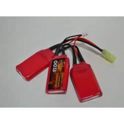 BATERIA LIPO BILLOWY POWER 11.1V - 1200mah - 25C