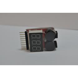 Alarma indicador batería Lipo