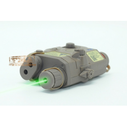 Laser verde estilo AN/PEQ-15 tan