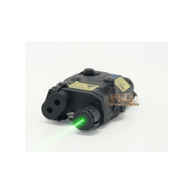 Laser verde estilo AN/PEQ-15 Negro