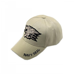 Gorra beisbol Navy Seal Tan