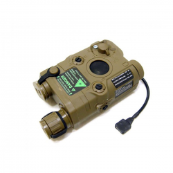 Laser rojo con linterna Tan nuevo AN/PEQ-15 FMA