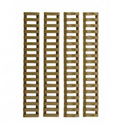 Cubre rail LADDER TYPE Tan