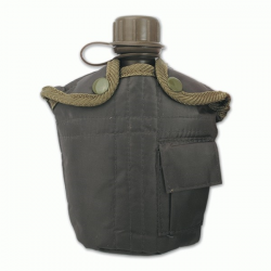 Cantimplora ABS 900 ml. Verde Militar
