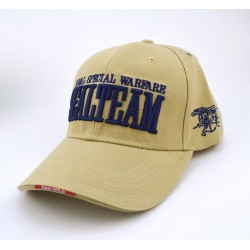 GORRA SEAL TEAM TAN