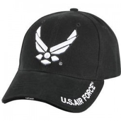 GORRA US AIRFORCE NEGRA