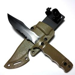 Cuchillo estilo M37 Dummy Tan