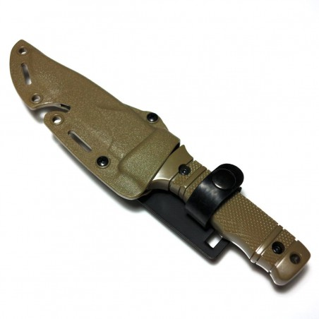 Cuchillo estilo M37 Dummy Tan