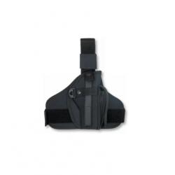 Pistolera Pernera Universal Compact Negra