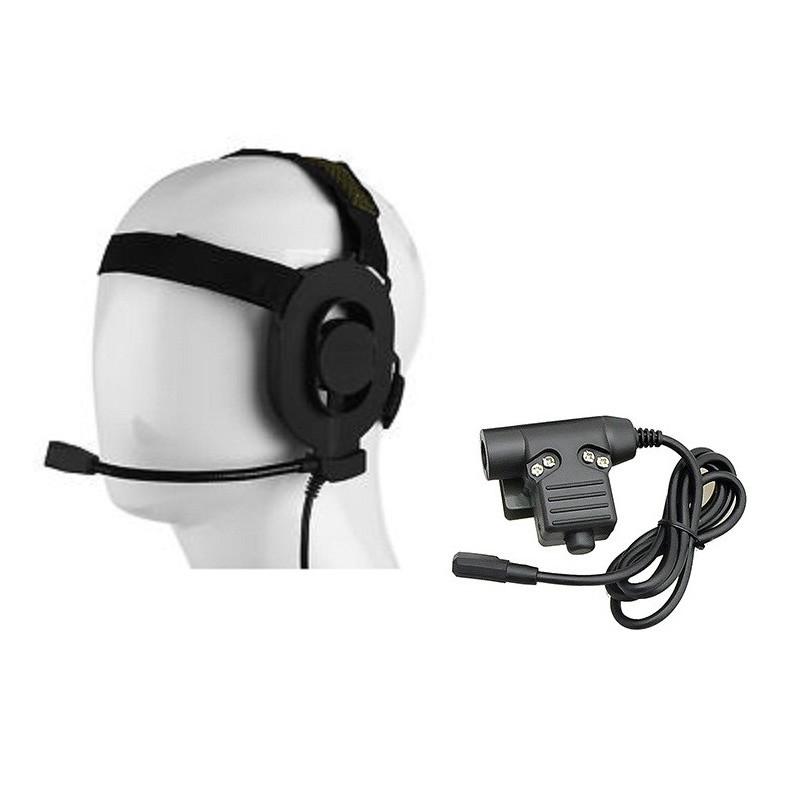 Cascos Z-Tactical con micrófono
