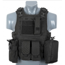 Chaleco táctico FSBE Negro