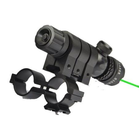 Láser verde alta potencia con pulsador