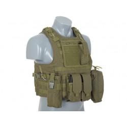 Chaleco táctico FSBE OD