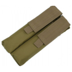 Porta cargador doble P90 TAN