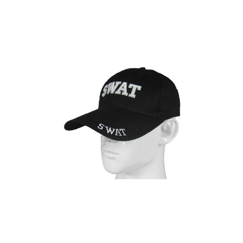 Gorra SWAT negra - Airsoft FUN ZONE 9978b960bff