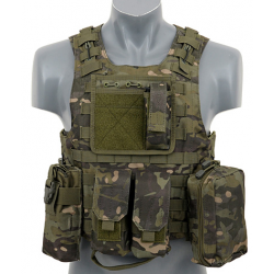 Chaleco táctico FSBE estilo ATFG