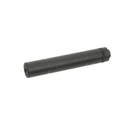 SILENCIADOR 195 x 30mm Negro
